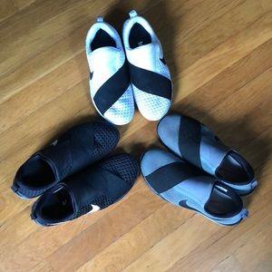 Set of 3 Nike sneakers